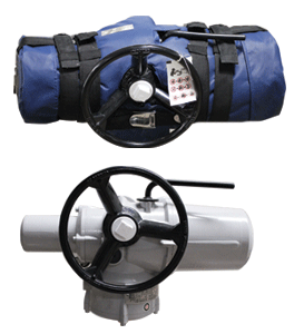 Actuator With Passive Fire Protection Jacket