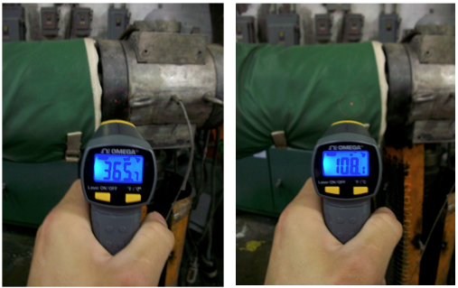 Extruder Insulation Infrared Testing